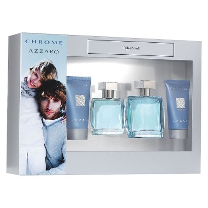 Men's Azzaro Chrome 4 Piece Gift Set
