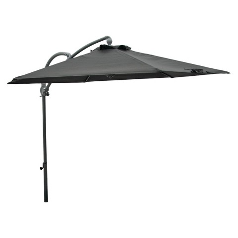 Room Essentials™ Replacement Patio Umbrella Canopy - Flat Grey 9'