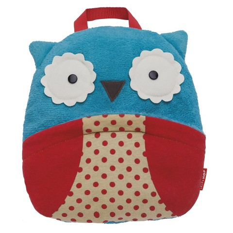 Skip Hop Zoo Toddler Travel Blanket with Pillow - Owl