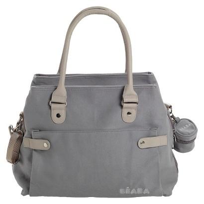 Beaba SAC Stockholm Diaper Bag - Gray/Natural