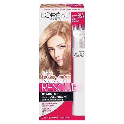 L'Oreal Paris Root Rescue is designed to last three weeks. It garnered top consumer scores for providing seamless coverage and for the accuracy of the color's match with the swatch on the box.