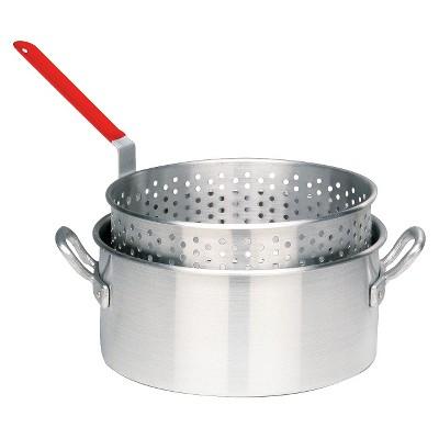 Bayou Classic 10 Qt Boiler/Fryer - Silver