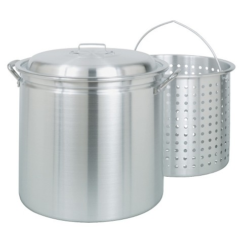 Bayou Classic 34 Qt Boiler/Fryer - Silver