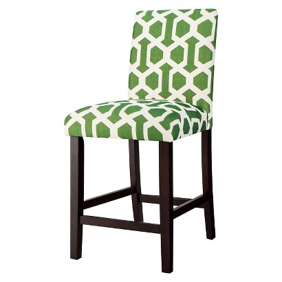 "Uptown 24"" Counter Stool - Hopscotch Green"
