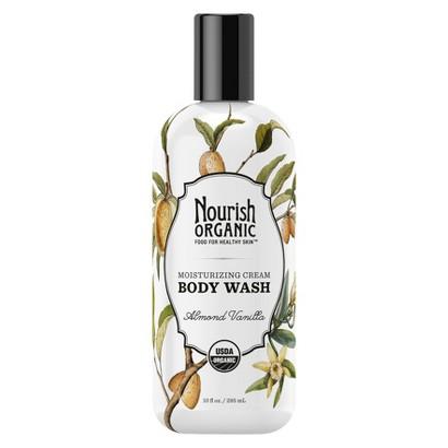 Nourish Organic Body Wash - Almond Vanilla (10 oz)