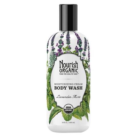 Nourish Organic Body Wash - Lavender Mint (10 oz)