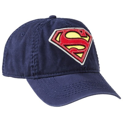 Men's Classic Superman Baseball Cap - Navy