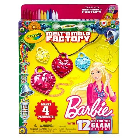 Crayola Melt n' Mold Expansion Pack Barbie