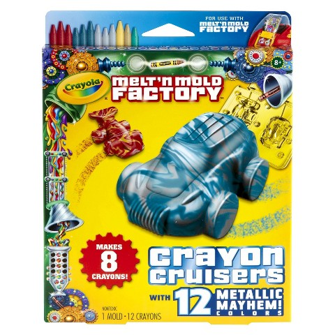 Crayola Melt N' Mold Crayon Cruisers Expansion Pack