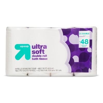 Premium Bath Tissue - 24 Pack - up & up™