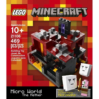 LEGO® Minecraft Creative Adventure Micro World – The Nether 21106