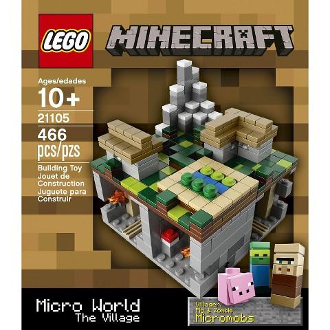 LEGO® Minecraft Creative Adventure Micro World – The Village 21105