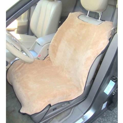 Trillium Slip-On Seat Cover - Tan