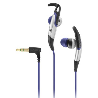 Sennheiser CX685 In-Ear Sport Headphones - Black/Blue