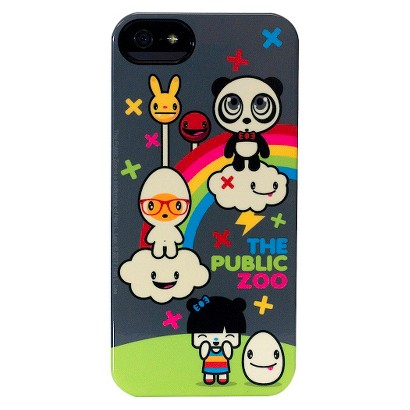 The Public Zoo Rainbow Deflector Cell Phone Case for iPhone 5