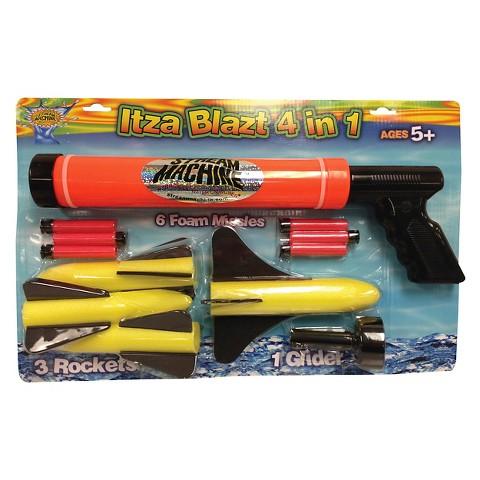 Water Sports ItzaBlatz 4 in 1 Water/Foam Gun Combo Set