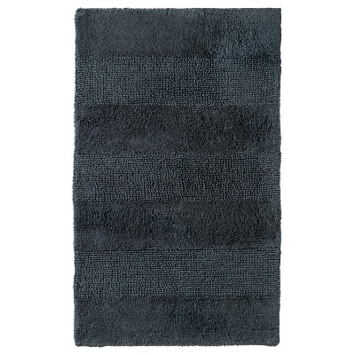 "Bath Rug Railroad Gray (24x38"") - Nate Berkus™"