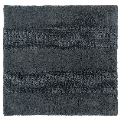 "Square Bath Rug Railroad Gray (24x24"") - Nate Berkus™"