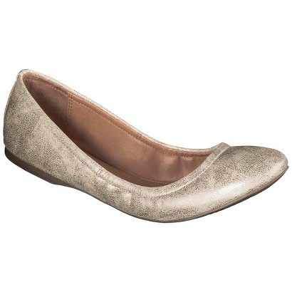 Women's Mossimo Supply Co. Ona Scrunch Ballet Flat - Assorted Colors
