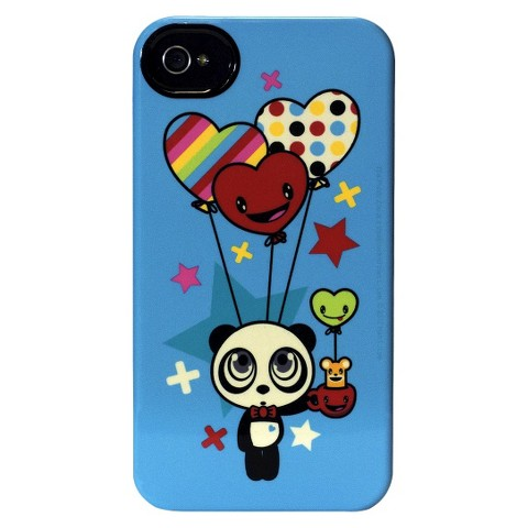 The Public Zoo Happy Balloon Panda Deflector Cell Phone Case for iPhone 4/4s