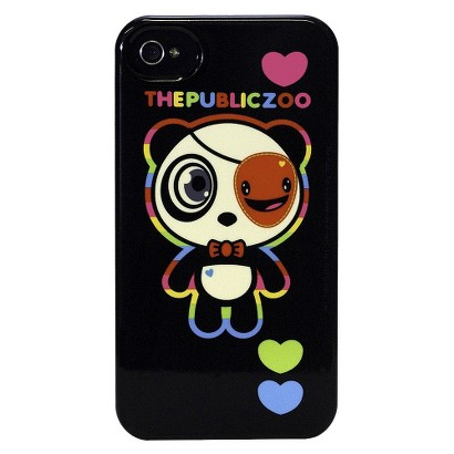 The Public Zoo Rainbow Panda Deflector Cell Phone Case for iPhone 4/4s