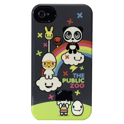 The Public Zoo Rainbow Deflector Cell Phone Case for iPhone 4/4S - Multicolored (C0010-U)