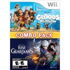 The Croods Prehistoric Party & Rise of the Guardians: Combo Pack (Nintendo Wii)