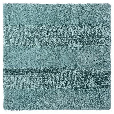 "Nate Berkus™ Square Bath Rug - Gray Aqua (24x24"")"