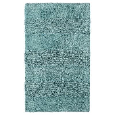 "Bath Rug Gray Aqua (24x38"") - Nate Berkus™"