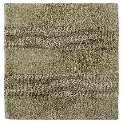 "Square Bath Rug Khaki Tan (24x24"") - Nate Berkus™"