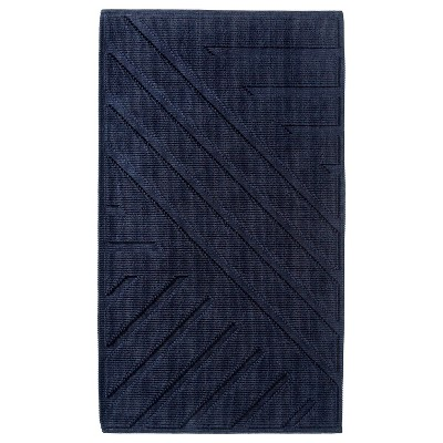 "Bath Mat Blue Midnight (20x34"") - Nate Berkus™"