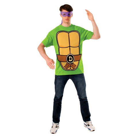 Adult Teenage Mutant Ninja Turtles Donatello T-Shirt Costume