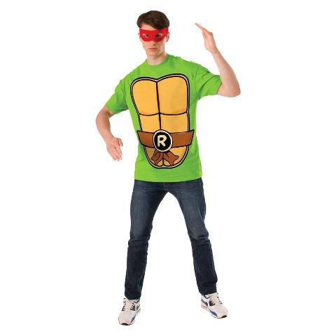 Adult Teenage Mutant Ninja Turtles Raphael T-Shirt Costume