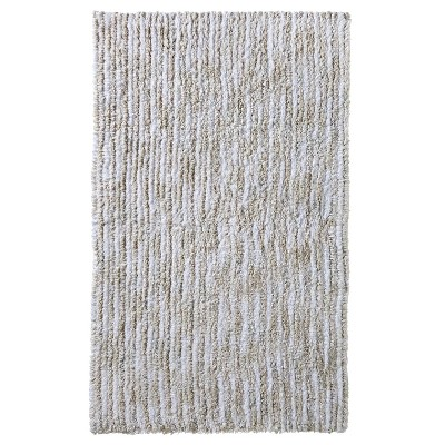 Striated Bath Rug Heather Gray (20x32) - Nate Berkus™