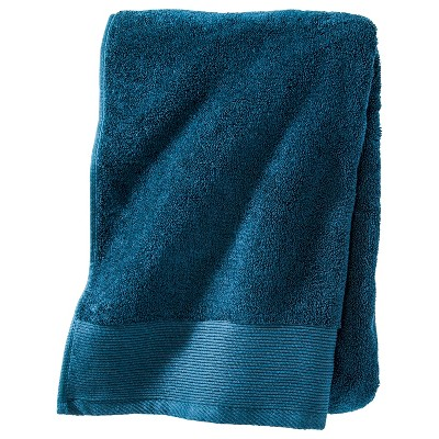 Nate Berkus Bath Sheet Siam Blue