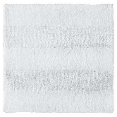 "Square Bath Rug True White (24x24"") - Nate Berkus™"