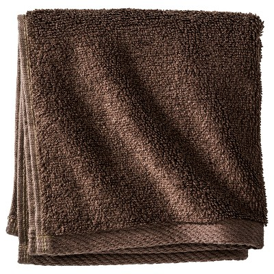 Washcloth Sparrow Brown - Nate Berkus™