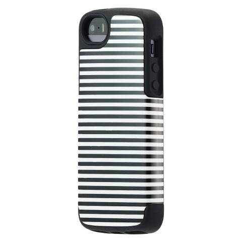 Agent18 iPhone 5 Case Manhattan Stripes - Black/White (P5HRO/136)