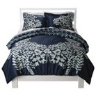 Placed Graphic Floral Bedding Collection
