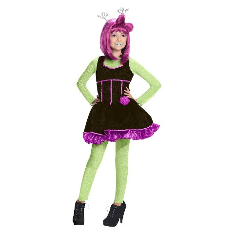 Girl's Alie Lectric Costume