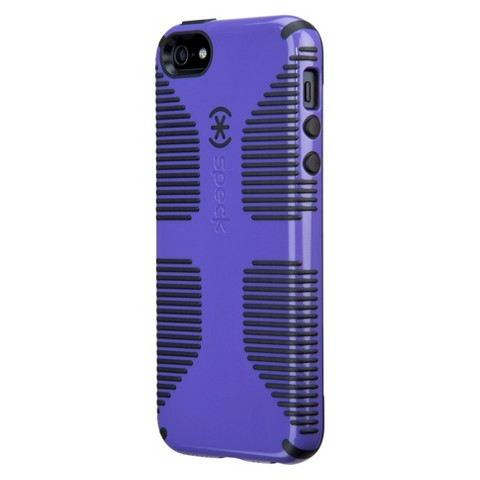 Speck Candyshell Grip Cell Phone Case for iPhone 5 - Purple/Black (SPK-A1655)