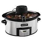 Crock-Pot® 6-Quart Digital Slow Cooker with iStir™ Stirring System, SCCPVC600AS-P