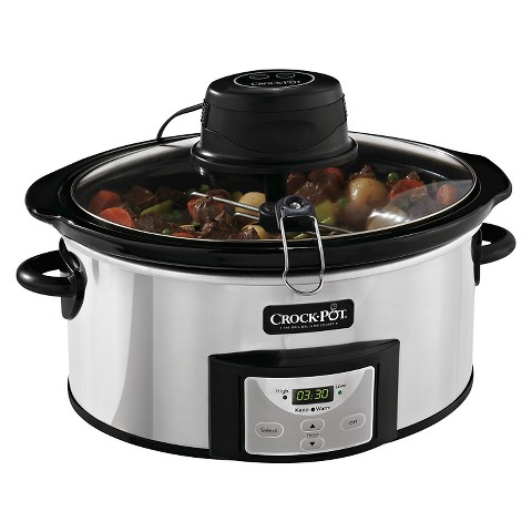 Crock-Pot® Digital Slow Cooker with iStir™ Automatic Stirring System