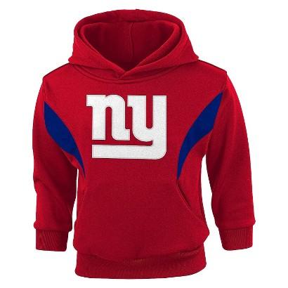 NFL Infant Toddler Fleece Hooded Sweatshirt Giants