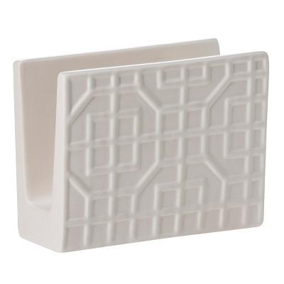 Threshold™ Ceramic Napkin Holder - White