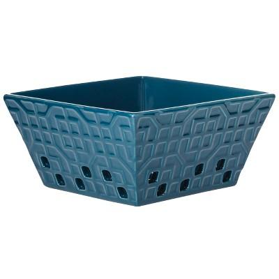Threshold™ Ceramic Berry Container - Nautical Blue