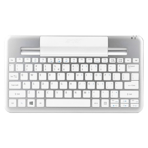 Acer® Bluebooth Keyboard - White (W3-810 BT US KB)
