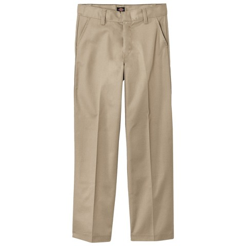 Dickies® Boys' Flat Front Twill Pant