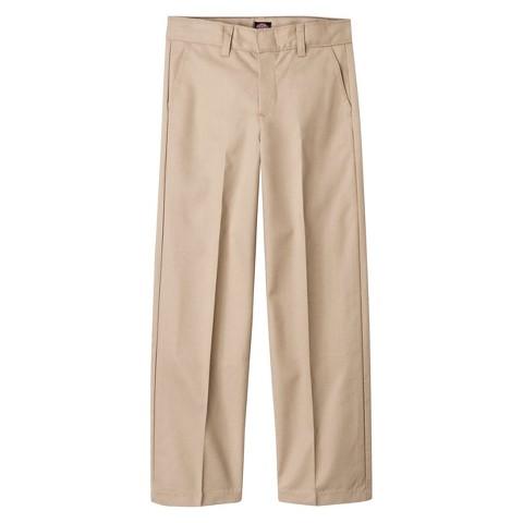 Dickies® Boys' Classic Fit Flexwaist™ Flat Front Pant