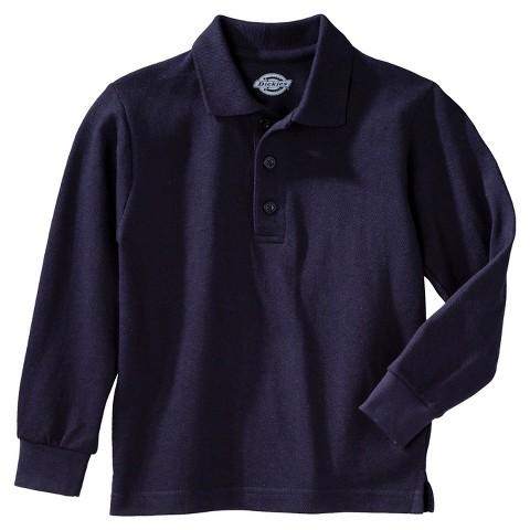Dickies® Boys' Long-Sleeve Performance Polo
